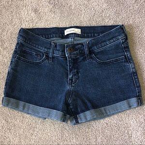 Abercrombie Kids Cuffed Jean Shorts -Size 16
